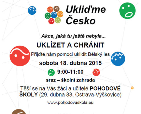Ukliďme Česko 2015