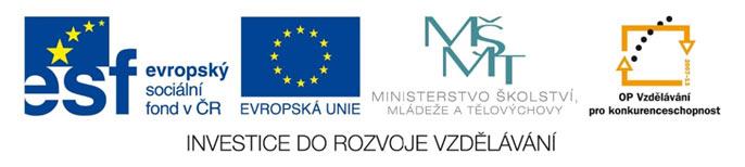 Logo - Investice do rozvoje vzdělávání