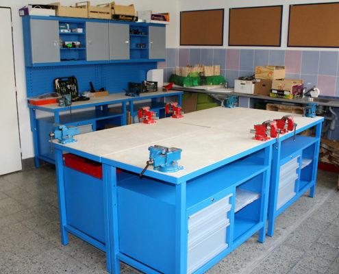Pracovní činnosti ve školní dílně