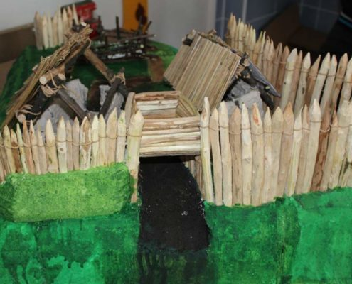 Soutěž - postav hradisko