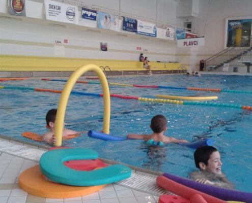 Ukončení kurzu plavání 2014