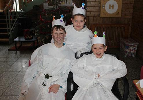 Tři králové přišli na Den otevřených dveří