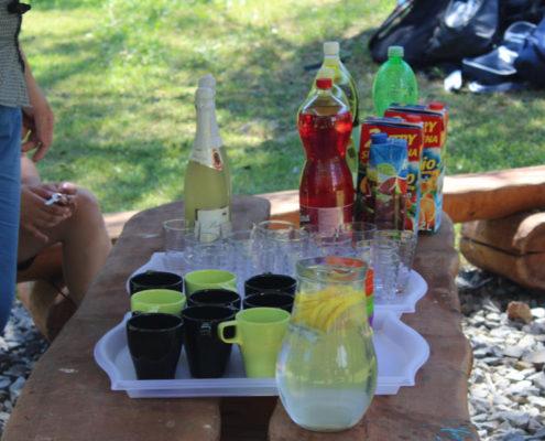 Garden párty deváťáků