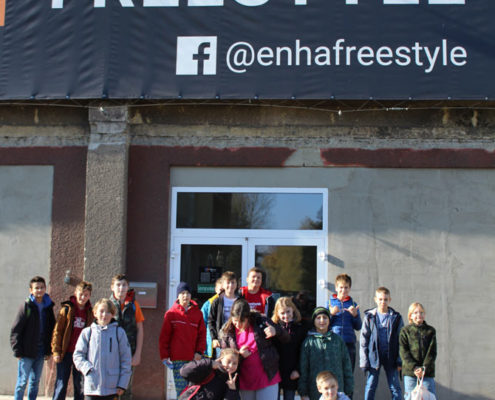 ENHA Freestyle centrum