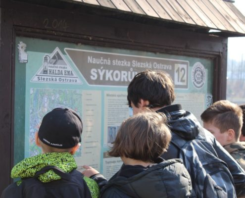 Procházka po nábřeží Ostravice
