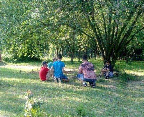 Komorní Garden party