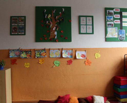 Podzimní výtvarná výchova