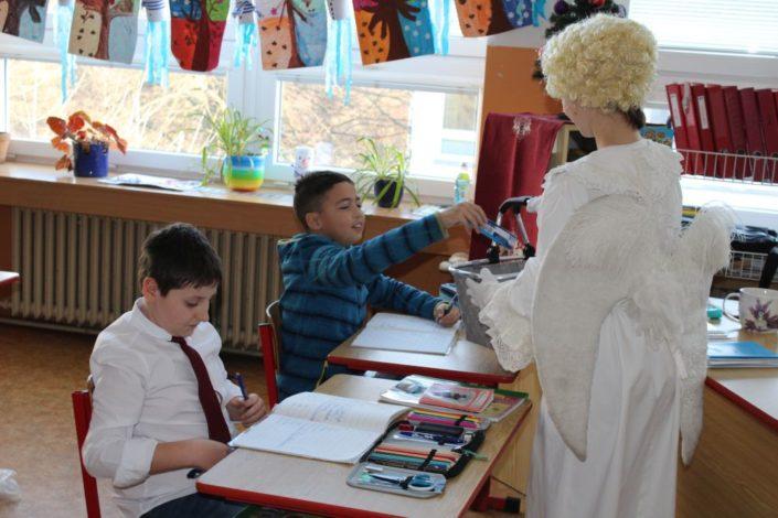 Mikuláš v naší škole