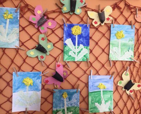 Jarní vánek ve výtvarce