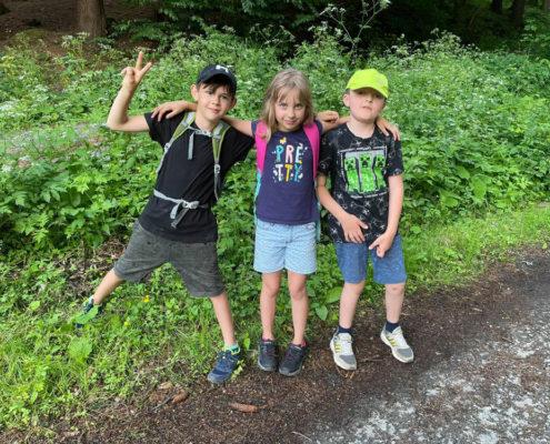 škola v přírodě - den 2